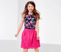 Girls Skirt, Pink