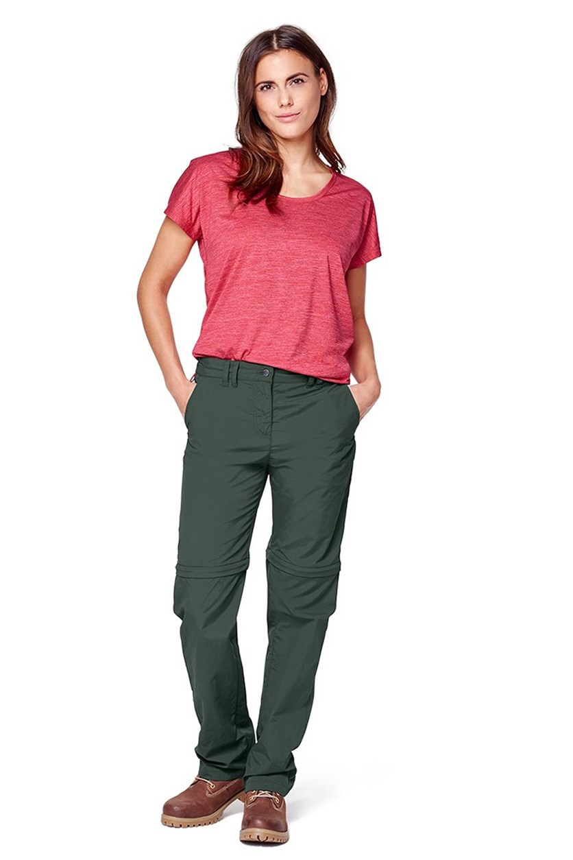 Women's 2 in 1 Pants, Olive