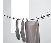 Flexible Clothesline, Grey