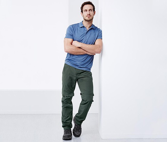 Mens Functional Pants, Olive