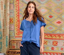 Women's Tunic Shirt, Blue