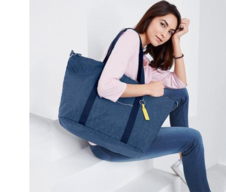 Women's Shoulder Bag, Blue Denim