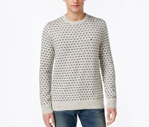 Seedpearl Men's Crewneck Sweater, Beige