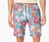 Tommy Hilfiger Men's Mitch Floral-Print Shorts, Navy Combo