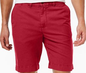 Tommy Hilfiger Mens Louis Shorts, Apple Red