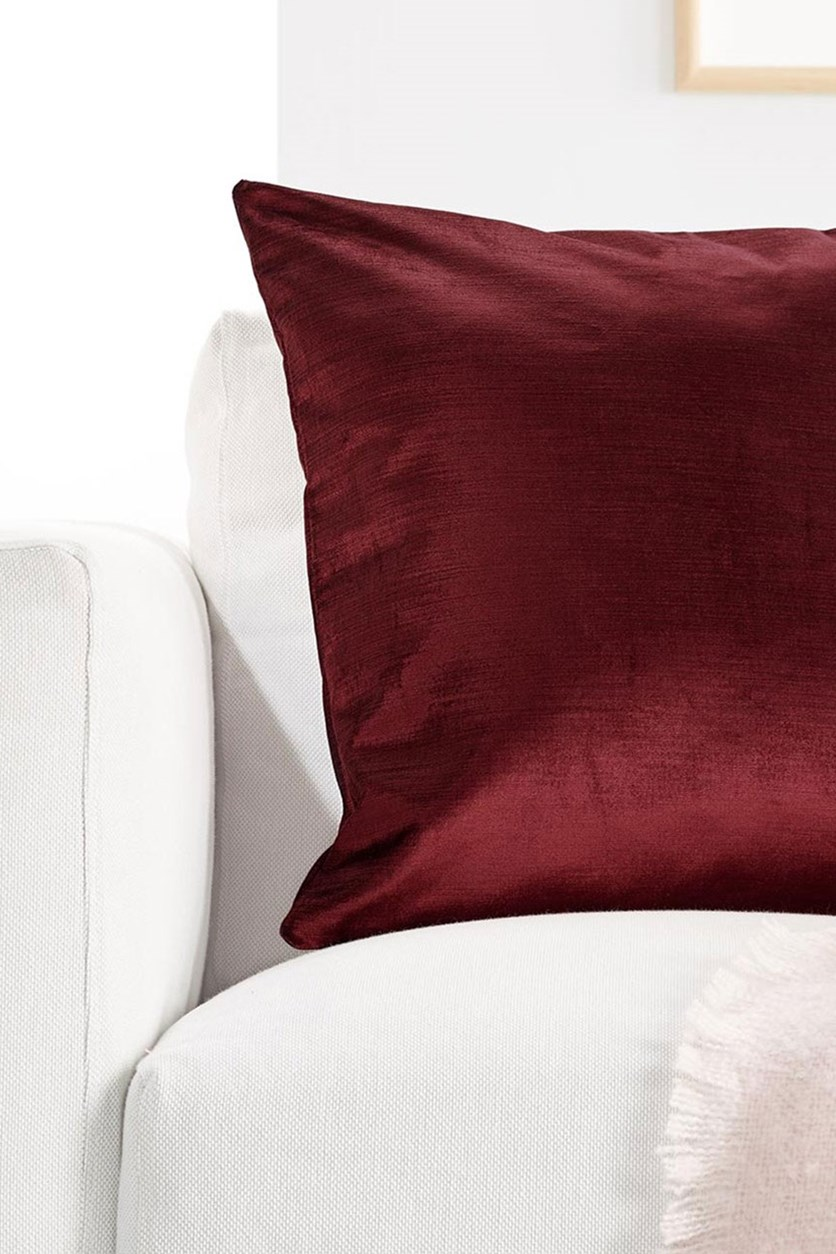 Cushion Cover 50 x 50 cm, Dark Red