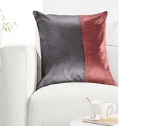 Cushion Cover, Grey/Rose