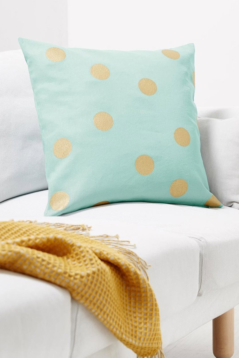 Decorative Cushion Cover, Mint