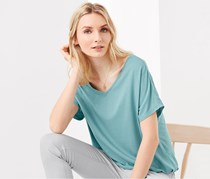 Women's V-Neck Shirt, Jade