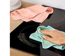 Cleaning Cloths Set of 2, Mint/Pink