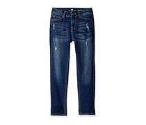 7 For All Mankind Josefina Skinny Jeans, Royal Broken Twill