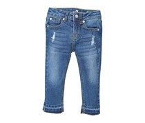 7 For All Mankind Toddler's Ankle Skinny Jeans, Brilliant Azzure