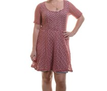 Maison Jules Women's A-Line Dress,Dusty Cedar
