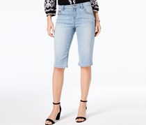 INC International Concepts Denim Bermuda Shorts, Nikki Wash