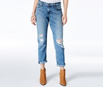 Sienna Distressed Slim Jeans, Light Wash