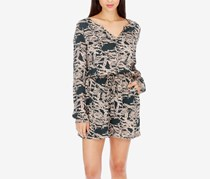Lucky Brand Printed Romper, Green Combo