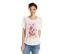 Lucky Brand Graphic T-Shirt, Peach Whip