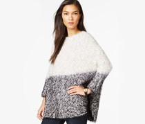 Bar III Furry Ombre Dolman Sleeve Sweater, Black Combo