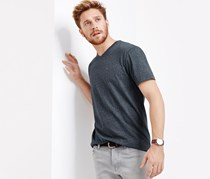 Mens T-Shirts, Grey/Blue
