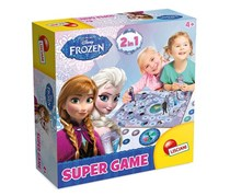 Disney Frozen Lisciani Board Game, Blue