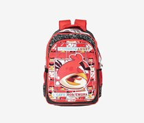 Angry Birds Arabesque Backpack, Red