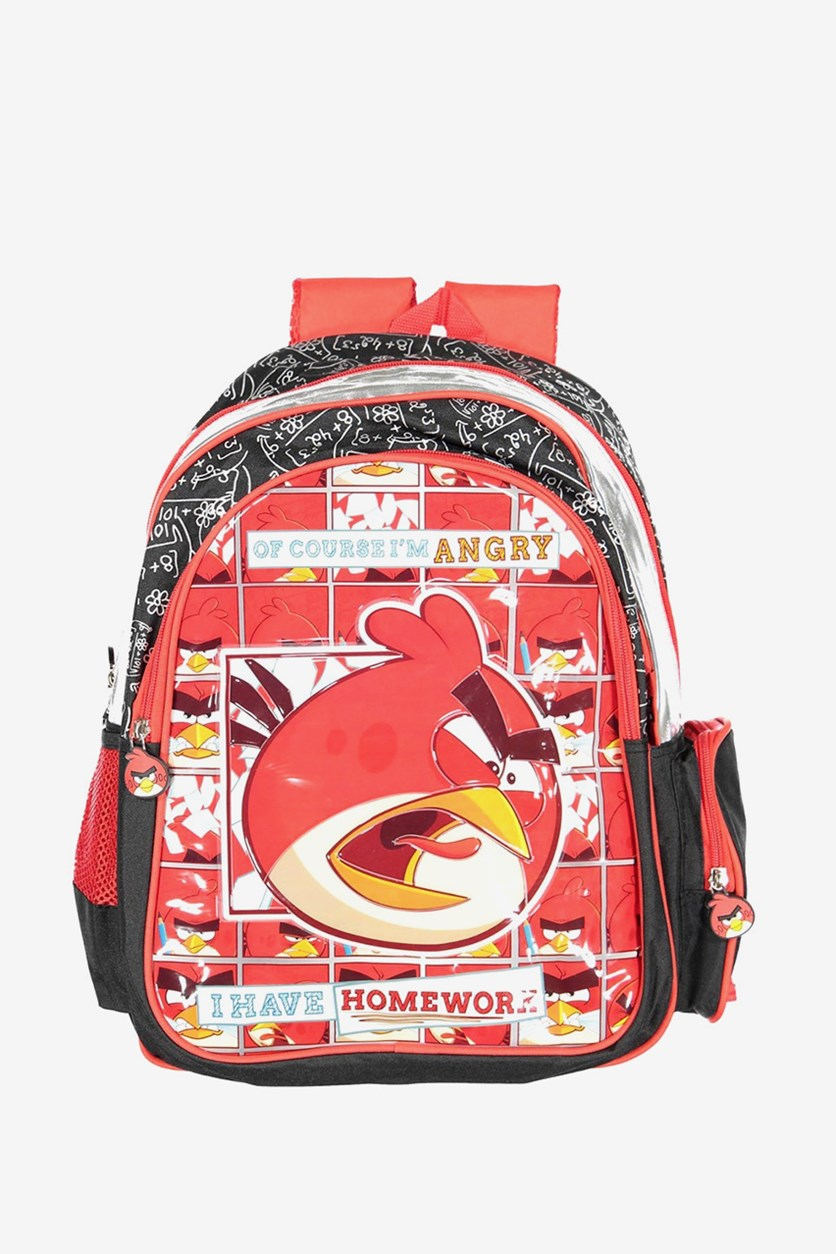 Angry Birds BackPack, Red/Black