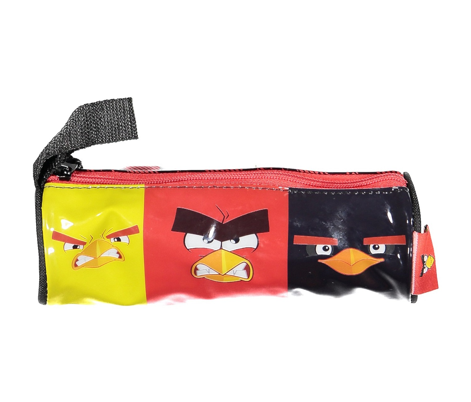 Pencil Bag, Red/Black/Yellow