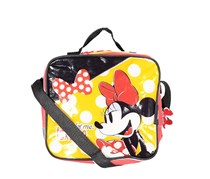 Disney Minnie Mouse Lunch Bag, Red/Black/Yellow
