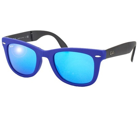 ae2955c4f35 Shop Ray-Ban Ray-Ban RB4105 6020 17 Wayfarer Flash Lenses Sunglasses for  Accessories in United Arab Emirates - Brands For Less
