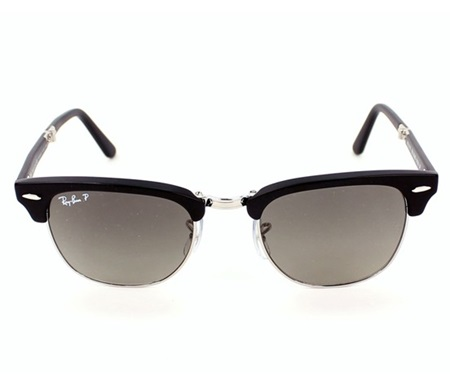 Shop Ray-Ban Ray-Ban Folding Clubmaster RB2176 901-S M8 Sunglasses ... c0ff2a501b