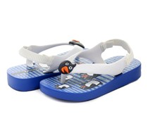 Ipanema Sandals Temas II Baby, Blue/White