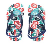 Ipanema Sandals for Baby Girls, White/Blue