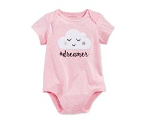 First Impressions Dreamer Bodysuit, Pink Heather