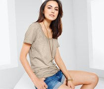Women's Short Sleeve T-Shirt, Sand