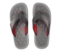 Men Rider Dunas XIV AD Slippers, Grey/Red