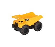 Caterpillar Wheel Loader Dump Truck Construction Toys, Black/Yellow