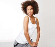 Women's Wellness Top Set of 3, White/Black/Grey