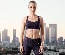 Women's Sports Bra, Black Combo