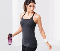 Women's Seamless Top, Grey
