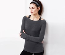 Women's Sports Shirt, Heather Grey