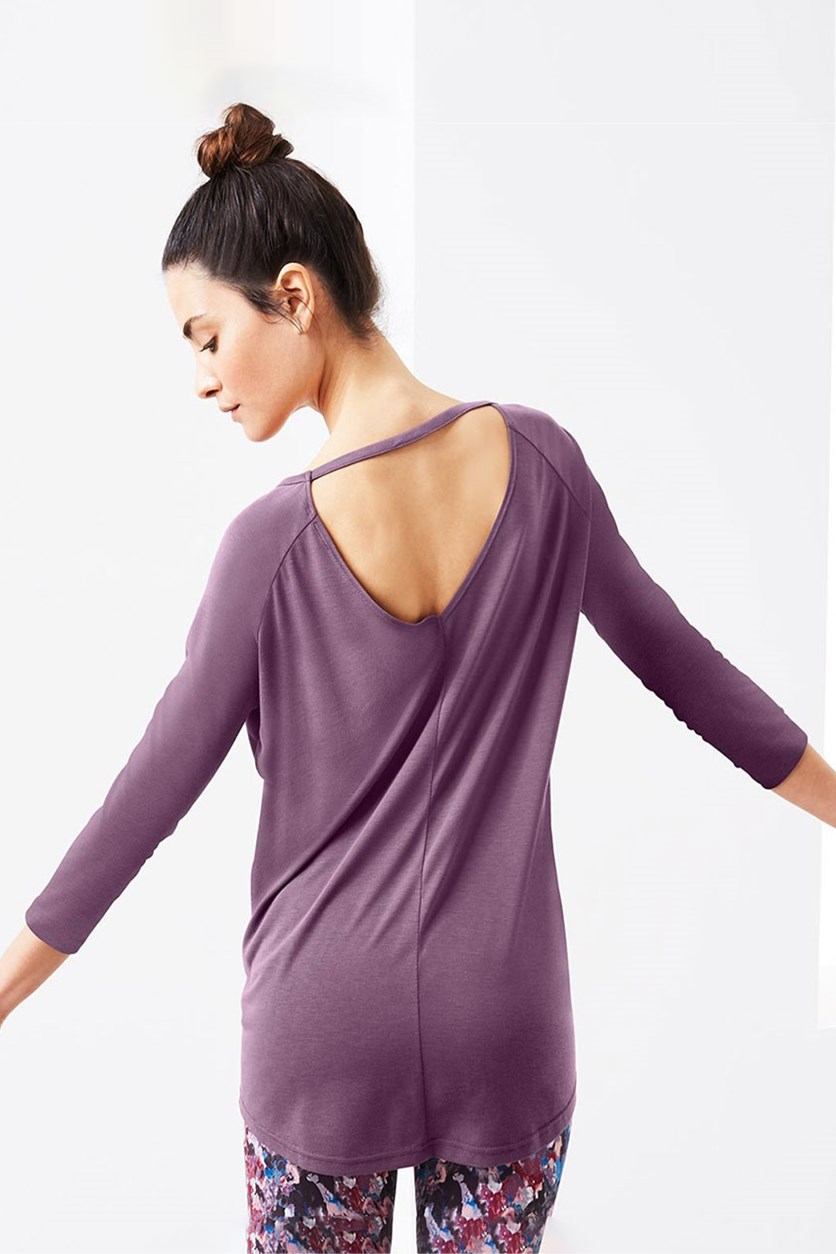 Women's Long Sleeve Shirt, Light Purple