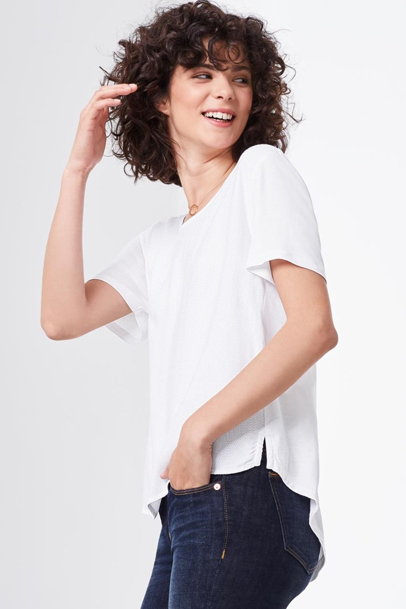 Women's Blouse Shirt, White