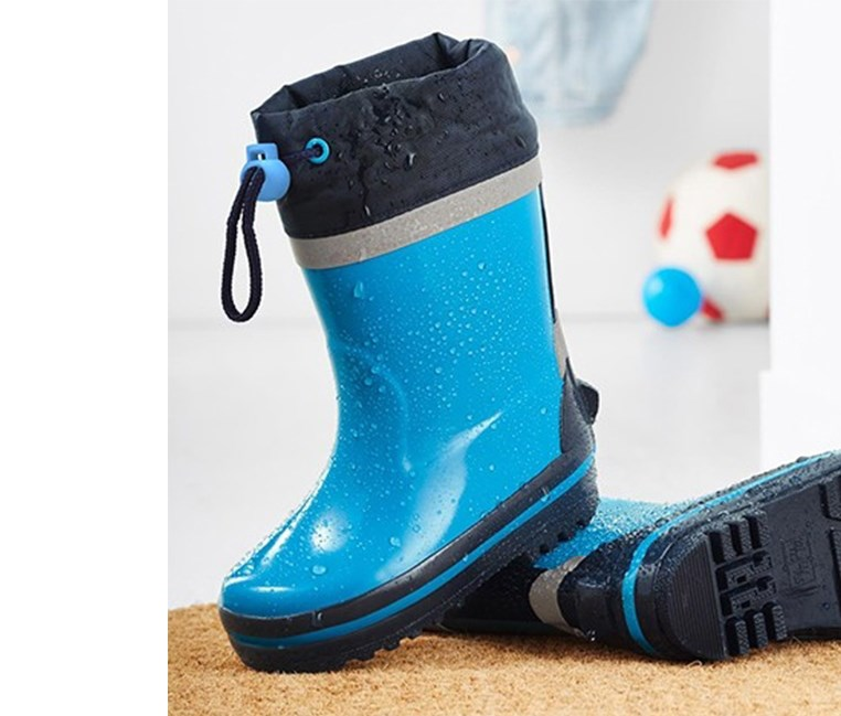 Toddlers Wellingtons, Turquoise