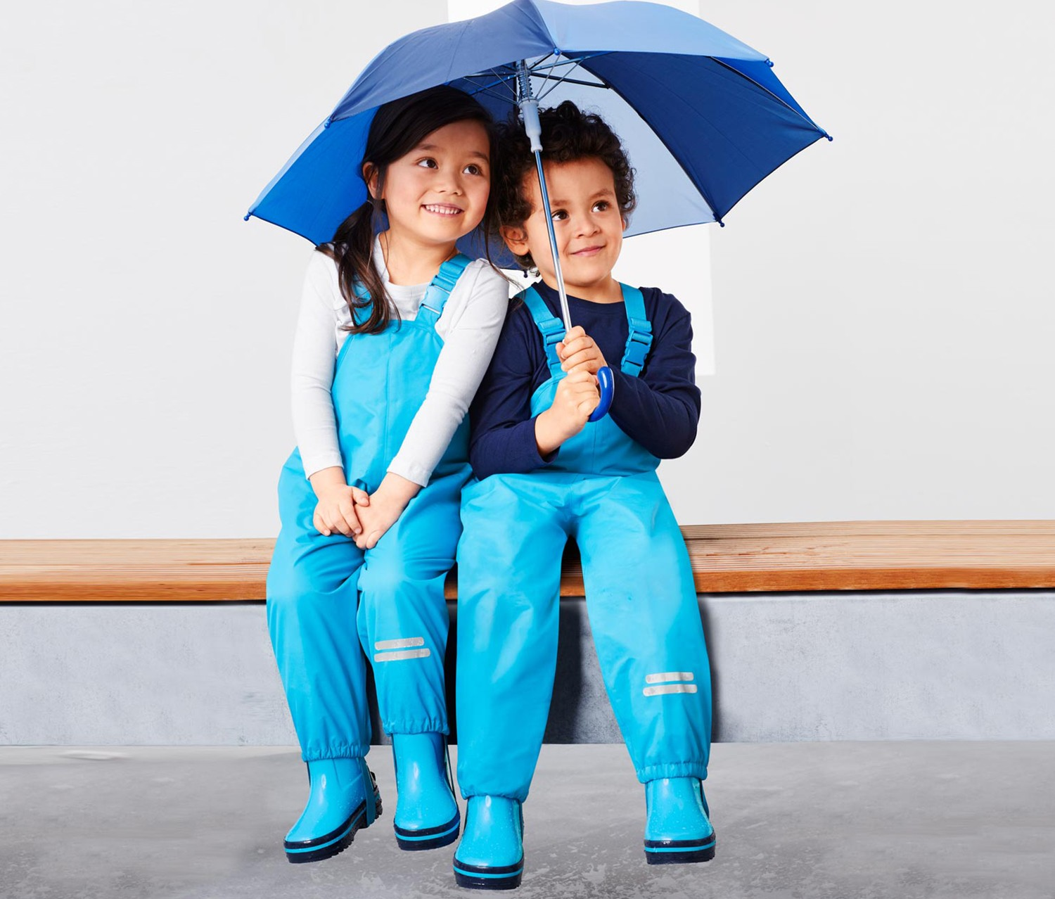 Toddler Therm Rain Trousers, Turquoise