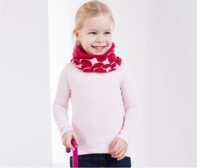 Kids Multipurpose Handscarf, Pink