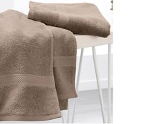 Hand Towels Set of 2, Taupe