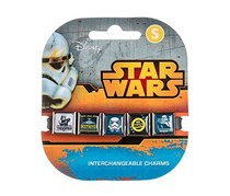 Roxo Star Wars Icons 5 #2 Charm Band, Black/Silver Combo