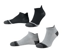 High Performance Running Socks, Grey/Anthracite