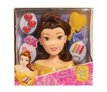 Disney Princess Basic Belle Styling Head, Yellow