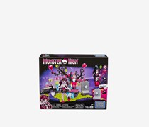 Mega Bloks Monster High Draculaura's Birthday Party Set, Black/Purple